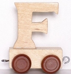 Picture of Lettertrein blank F