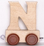 Picture of Lettertrein blank N