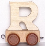 Picture of Lettertrein blank R
