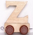 Picture of Lettertrein blank Z