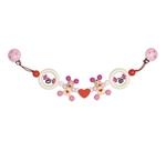 Image de Wagenspanner muisjes hart roze Heimess