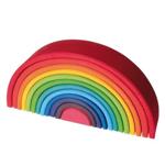 Afbeeldingen van Regenboog gekleurd groot 36 cm 12-delig Grimm's