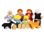 Afbeeldingen van Poppenhuispoppetjes Familie