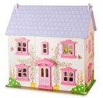 Afbeeldingen van Poppenhuis Roos 'Rose Cottage' met inrichting Bigjigs