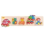 Afbeeldingen van Grote stukken puzzel Speelgoed - Bigjigs