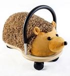 Afbeeldingen van Wheelybug small pluche egel loopwagen met zwenkwielen 1+
