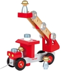 Afbeeldingen van Brandweerauto Constructie Janod
