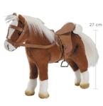 Afbeeldingen van Gotz pop Paard met zadel en tuig