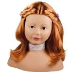Afbeeldingen van Pop Styling hoofd Rood haar Götz/Gotz