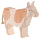Afbeeldingen van Koe roodbont staand 11,5cm Ostheimer