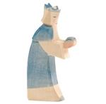 Afbeeldingen van Koning blauw 16 cm Ostheimer