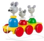 Afbeeldingen van Trekfiguur familie muis
