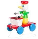 Afbeeldingen van trekfiguur xylofoon Eend gekleurd