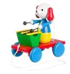 Afbeeldingen van trekfiguur xylofoon hond