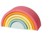 Afbeeldingen van Grimm's Regenboog 6-delig pastelkleuren