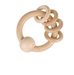Image de Bijt- en Grijpring Heimess naturel 4 ringen