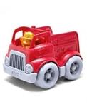 Afbeeldingen van Brandweerauto 14cm - recycled plastic - Greentoys