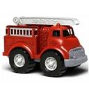 Afbeeldingen van Brandweerauto rood 27cm - recycled plastic - Greentoys