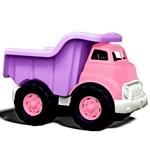 Afbeeldingen van Kiepwagen paars/roze 27cm - recycled plastic - Greentoys