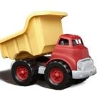 Afbeeldingen van Kiepwagen rood/geel 27cm - recycled plastic - Greentoys