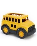 Afbeeldingen van Schoolbus geel 27cm - recycled plastic - Greentoys