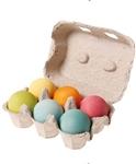 Afbeeldingen van Gekleurde ballen Grimm's 6 stuks pastelkleur