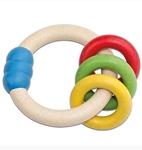 Afbeeldingen van Antibacteriele Bijtring multikleur New Classic Toys