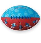 Afbeeldingen van Rugbybal sportafbeelding rubber Ø 19 cm Crocodile Creek