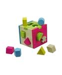 Afbeeldingen van Puzzel kubus vormenstoof Primi Passi