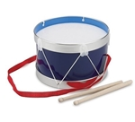 Afbeeldingen van Trommel 22 cm blauw New Classic Toys