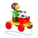 Afbeeldingen van Trekfiguur xylofoon aap