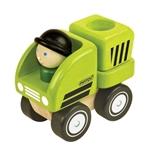 Picture of Vuilnisauto met bestuurder Pintoy