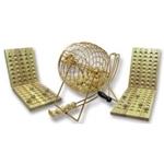 Afbeeldingen van Lotto/Kien molen Hotgames 24 x 18 cm 90 ballen met bord