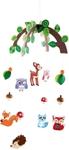 Afbeeldingen van Mobiel bosdieren