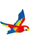 Bild von Zweeffiguur papagaai  spanwijdte 50 cm