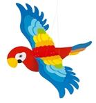 Bild von Zweeffiguur papegaai spanwijdte 65 cm