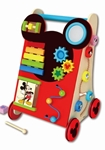 Afbeeldingen van Loopwagen Activity Walker hout Mickey Mouse 18m+ Disney