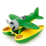 Afbeeldingen van Watervliegtuig groene vleugels - recycled plastic - Greentoys