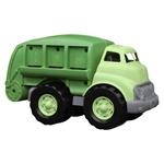 Afbeeldingen van Vuilniswagen groen 32cm - recycled plastic - Greentoys