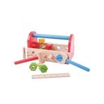 Afbeeldingen van Speel-gereedschapskist met gereedschap hout Bigjigs