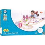 Picture of Grote treinset Fairy Town - roze