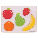 Bild von Puzzel grote stukken 12m+ Fruit Bigjigs