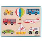 Afbeeldingen van Knoppenpuzzel Vervoer