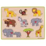 Afbeeldingen van Knoppuzzel Safari