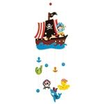Afbeeldingen van Houten mobiel Piraat Bigjigs