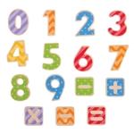 Afbeeldingen van Houten magnetische cijfers Bigjigs