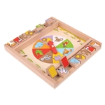 Bild von Dobbelspel Shut the box Dieren Bigjigs