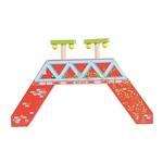 Bild von Voetgangersbrug houten treinbaan Bigjigs