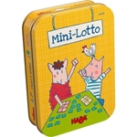 Picture of Mini-lotto in blikken doosje
