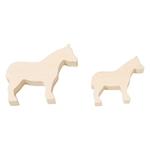 Bild von Snijvormen Paarden